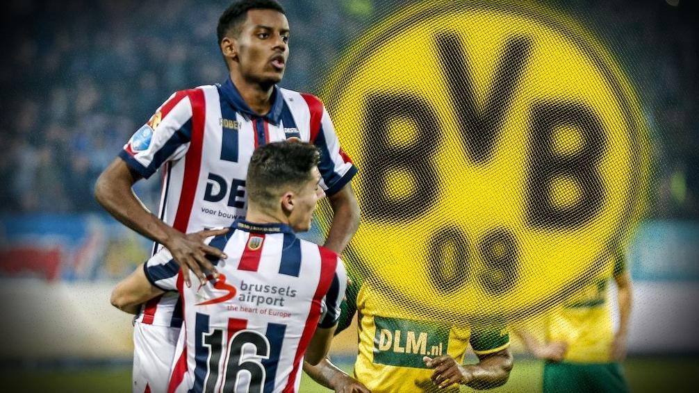 Alexander Isak ist derzeit vom BVB an Willem II verliehen