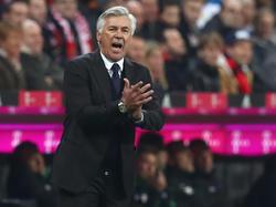 Carlo Ancelotti sah die beste Saisonleistung seiner Mannschaft