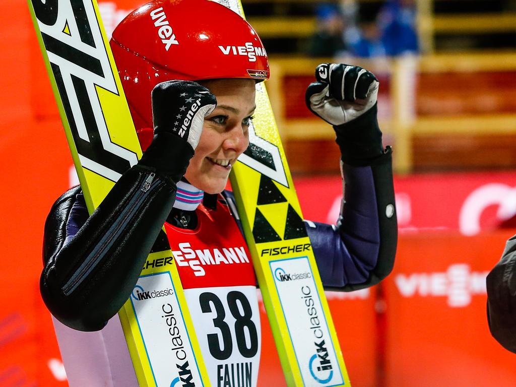 Carina Vogt überzeugte bei der Qualifikation