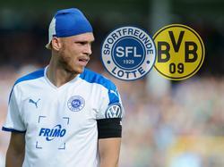 SFL-Kapitän Gerrit Nauber fiebert der Partie gegen den BVB entgegen
