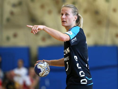 Nina Müller und die SG BBM Bietigheim setzten sich im Supercup durch