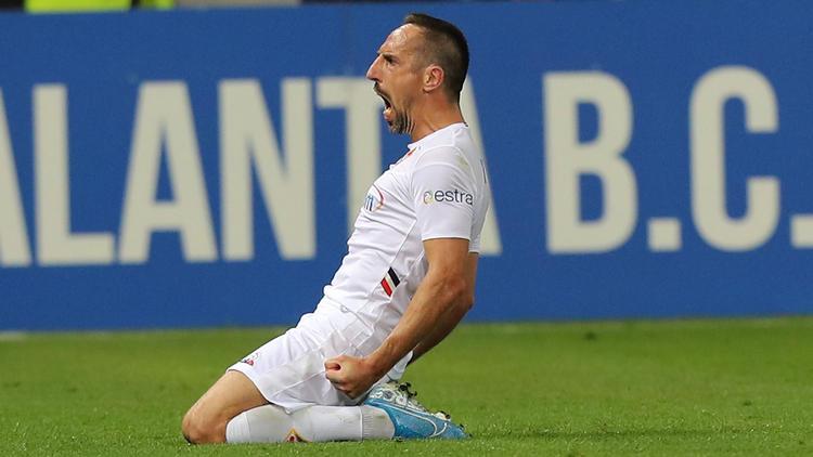 Franck Ribéry erzielte sein erstes Tor für Florenz