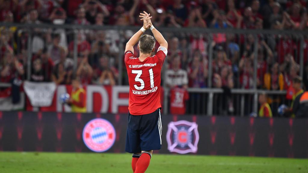 Bastian Schweinsteiger tauchte plötzlich im Video-Training des FC Bayern auf