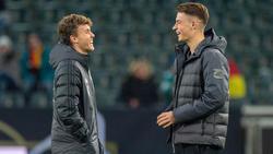 Luca Waldschmidt (l.) und Robin Koch haben sich in den Fokus gespielt