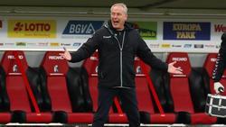Trainer Christian Streich war mit dem SC Freiburg wieder kein Sieg über Borussia Dortmund vergönnt
