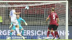 Der 1. FC Nürnberg und der KSC trennten sich 1:1-Unentschieden