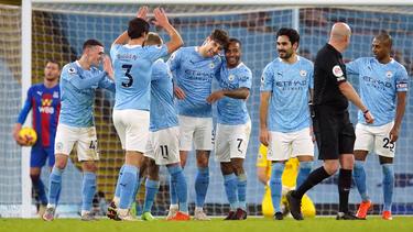 Manchester City in der Premier League jetzt Zweiter