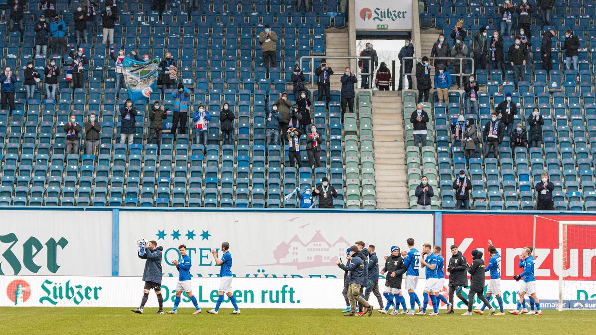 In Rostock waren am Wochenende Fans zugelassen