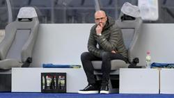 Will auch gegen Schalke auf Bayers Bank setzten: Trainer Peter Bosz