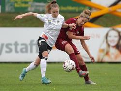 Lisa Kolb (l.) wechselt nach Deutschland zum SC Freiburg