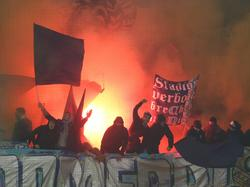 Die Fans des TSV 1860 München haben in Mainz gezündelt