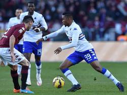 El camerunés prueba una nueva aventura y abandona la Sampdoria.