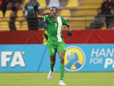 Osimhen se quedó el botín de oro como máximo goleador de la competencia. (Foto: Imago)
