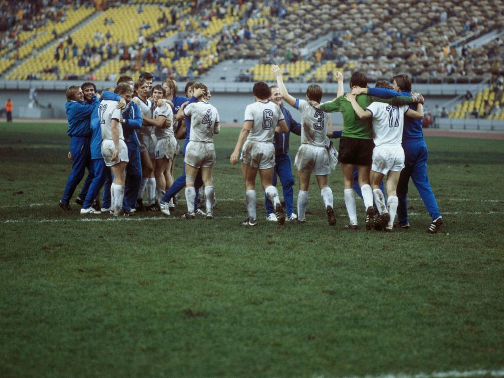 1976 sicherte sich die Nationalmannschaft der ehemaligen DDR olympisches Gold