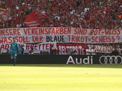 Der Fan-Protest in der Bayern-Kurve