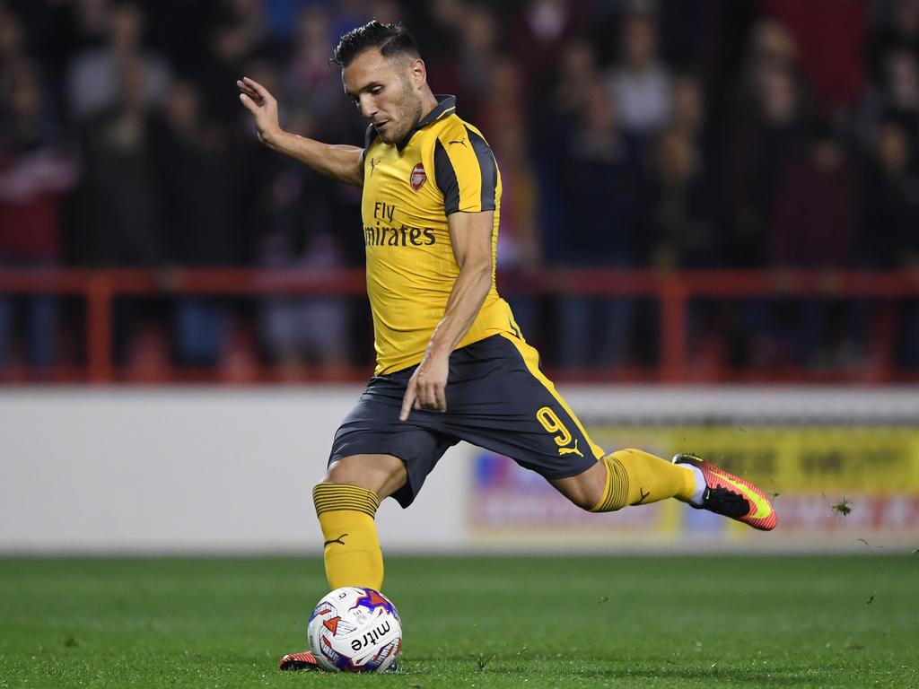 Lucas Pérez deja el Arsenal pero seguirá en la Premier. (Foto: Getty)