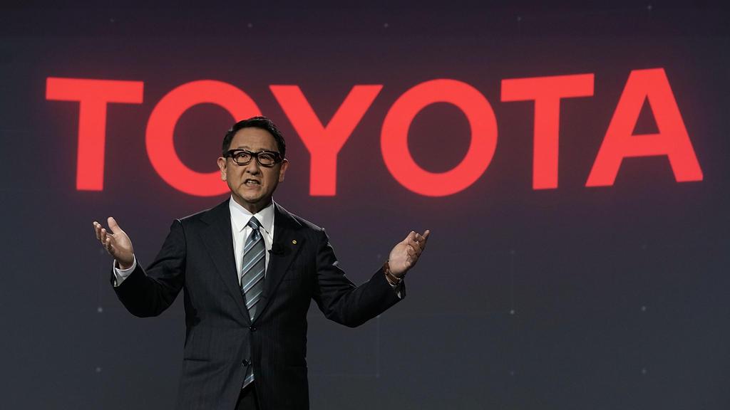 Toyota-Boss Akio Toyoda entschuldigte sich bei seinem Piloten