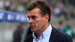 Will nicht über eine Vertragsverlängerung reden: Gladbach-Coach Dieter Hecking