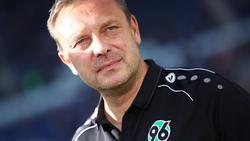 Hannovers Trainer André Breitenreiter freut sich auf die Partie gegen Augsburg