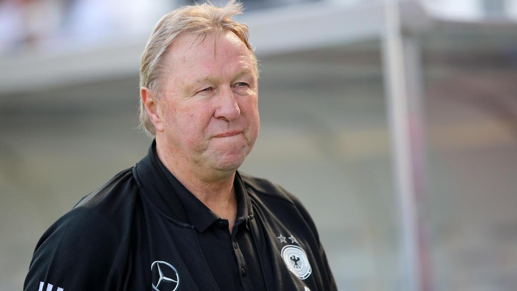Horst Hrubesch steht vor seinen letzten Spielen als Bundestrainer
