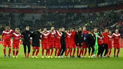 Bei Fortuna Düsseldorf herrschte nach dem Sieg über den BVB Erleichterung
