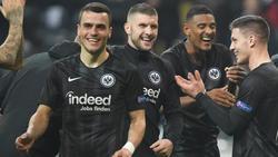 Bisher hatte die Eintracht in der Europa League viel zu feiern