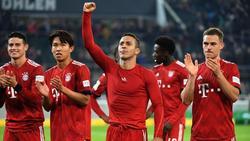 Der FC Bayern hat im Meisterkampf wieder Oberwasser