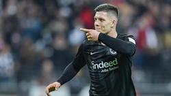 Luka Jovic ist gefragt - ein Angebot liegt Eintracht Frankfurt aber nicht vor