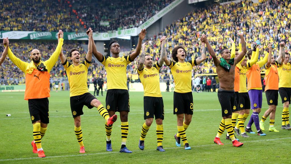 BVB geht mit Optimismus ins Topspiel beim FC Bayern