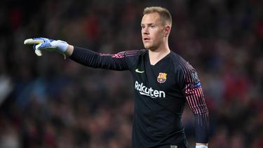 """Marc-André ter Stegen wurde von Barça-Präsident Josep Maria Bartomeu als """"bester Torwart der Welt"""" geadelt"""