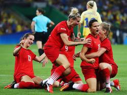 Wie im Olympia-Finale: Die DFB-Frauen treffen bei der Euro 2017 auf Schweden