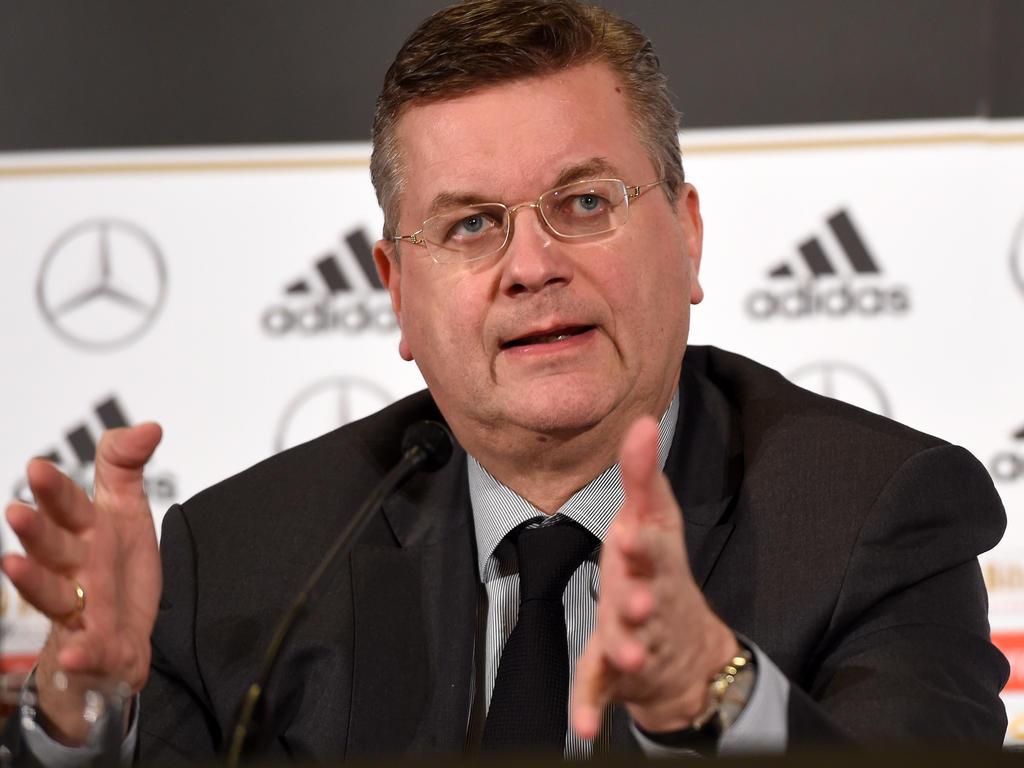 DFB-Präsident Reinhard Grindel plädiert für eine erneute Olympia-Bewerbung Hamburgs