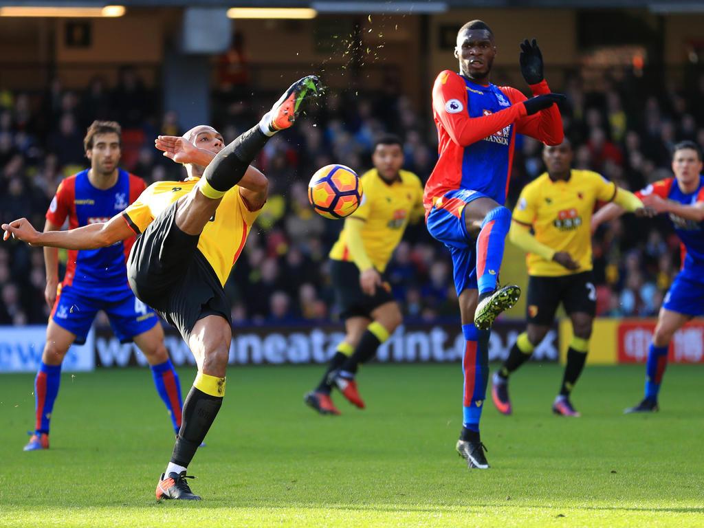 In einem umkämpften Spiel spielten FC Watford und Crystal Palace unentschieden
