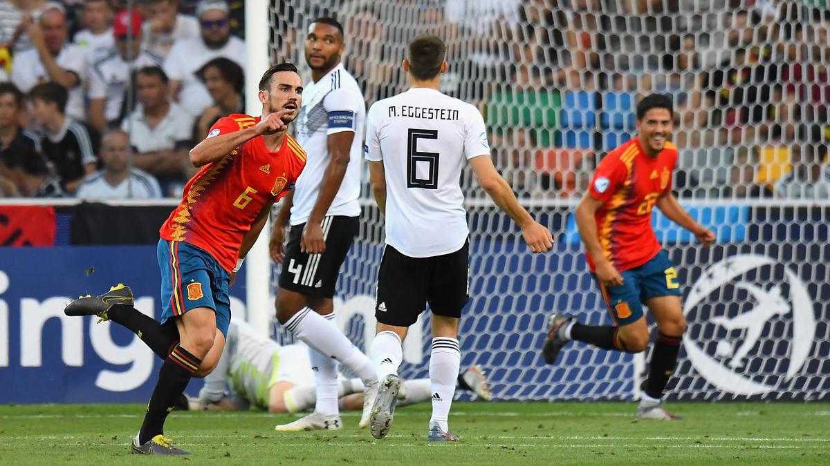 Die deutschen Junioren mussten sich Spanien geschlagen geben