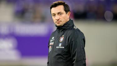 Aue-Trainer Daniel Meyer freut sich auf einen weiteren Neuzugang