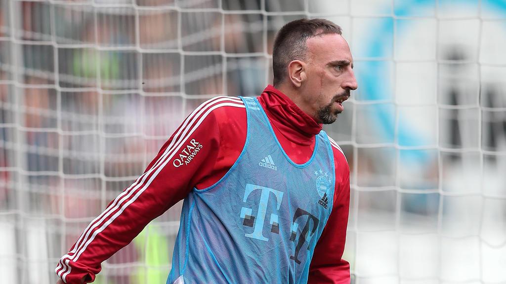 Franck Ribéry ist noch immer auf der Suche nach einem neuen Arbeitgeber