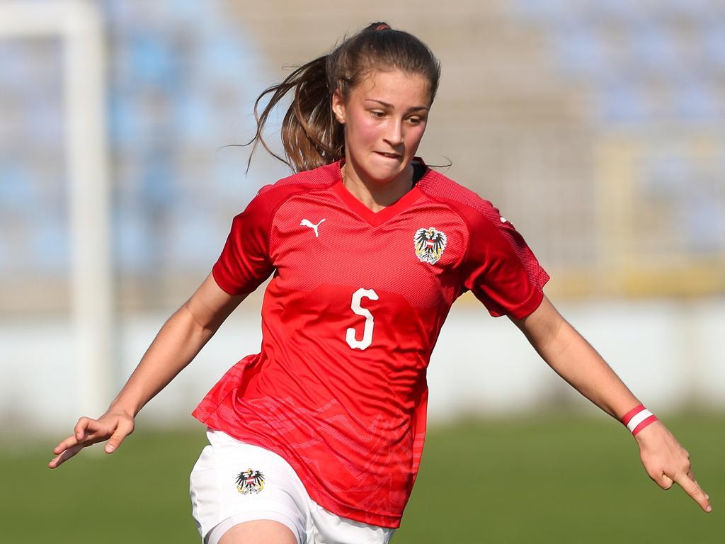 Julia Magerl traf gegen Finnland zum zwischenzeitlichen 2:0 für Österreich