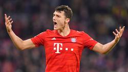 Benjamin Pavard ist beim FC Bayern gesetzt