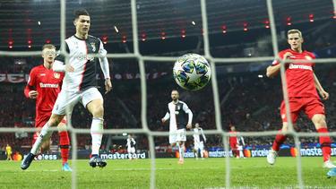 Cristiano Ronaldo brachte Juventus Turin in Leverkusen in Führung