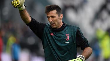 Gianluigi Buffon absolvierte seinen 647. Liga-Einsatz