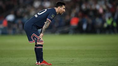 Kämpft weiter mit den Folgen einer schweren Knieprellung: Lionel Messi