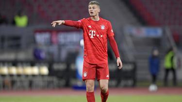 Mickael Cuisance spiel seit dem Sommer für den FC Bayern