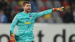 Thomas Kraft spielt auch gegen Bremen von Beginn an