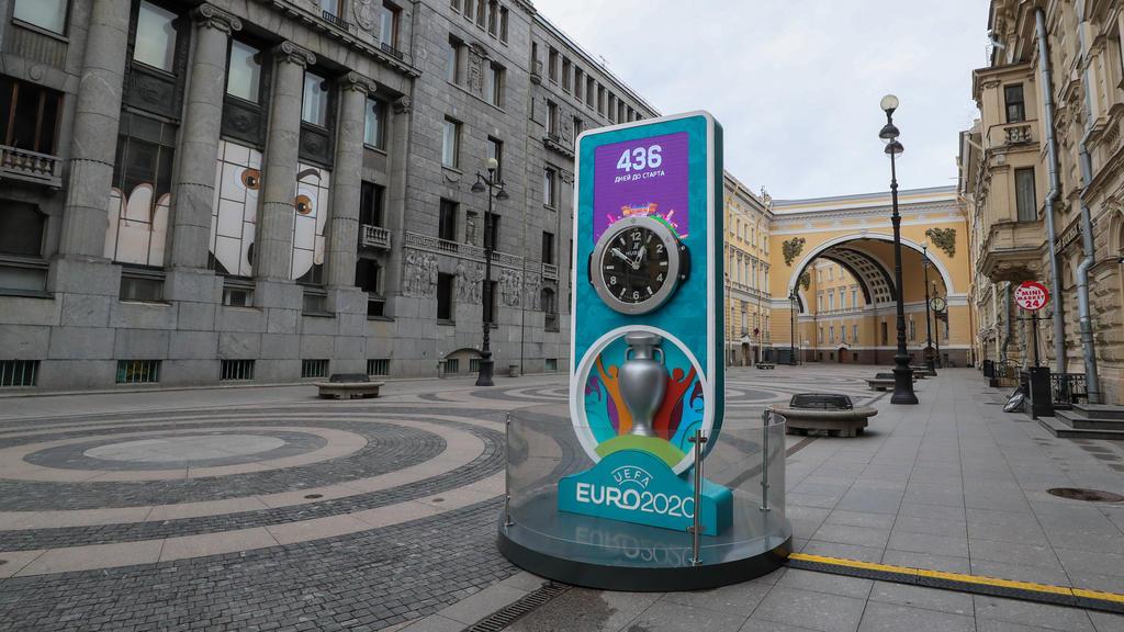 St. Petersburg ist einer der EM-Gastgeber