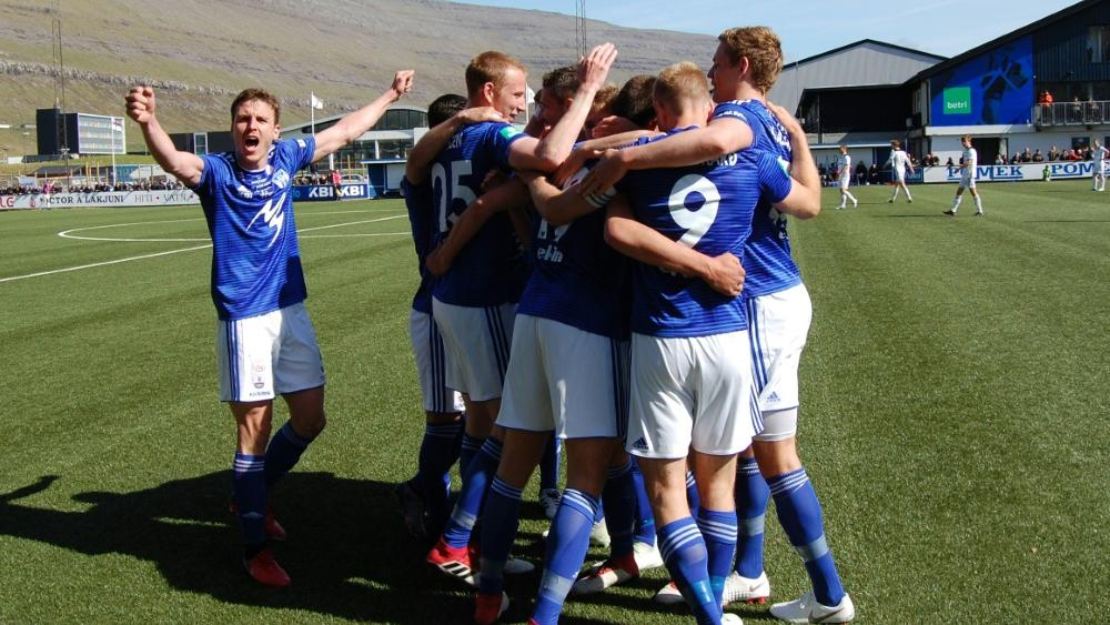 In den Playoffs der Europa League: KI Klaksvik