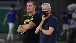 Geht es für Lucien Favre (re.) über 2021 hinaus beim BVB weiter?