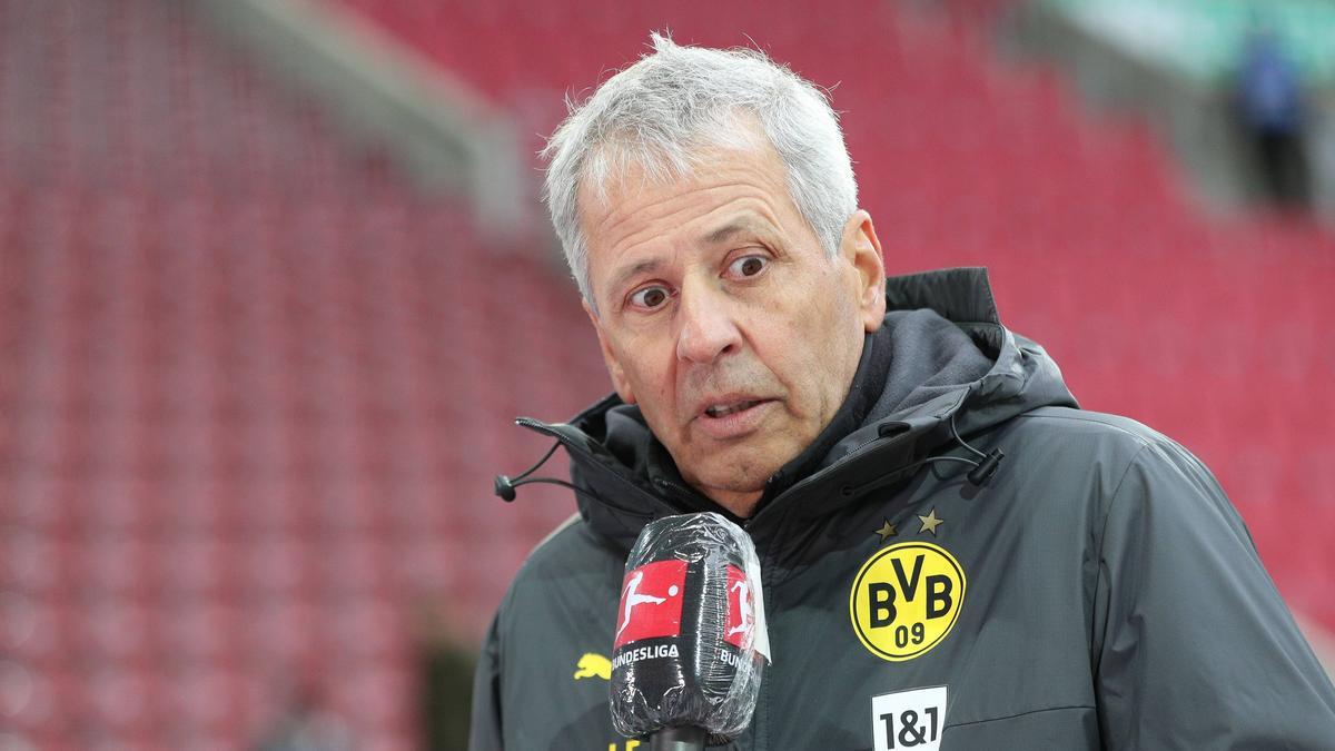 Lucien Favre steht beim BVB immer wieder in der Kritik