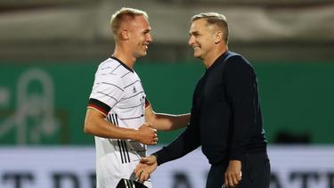 Florian Krüger fehlt Stefan Kuntz gegen Wales