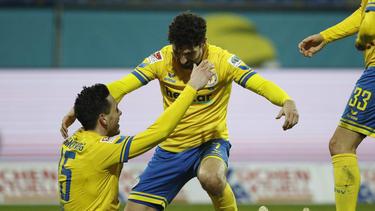 Eintracht Braunschweig feierte einen erlösenden Sieg