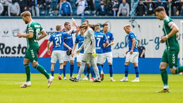 Hansa Rosktock ist zurück in der 2. Bundesliga
